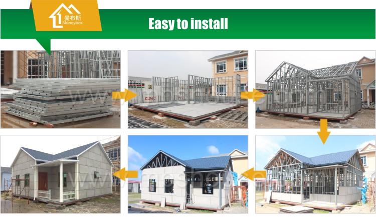 Low Cost Light Steel Frame Modular House Prefab Villa