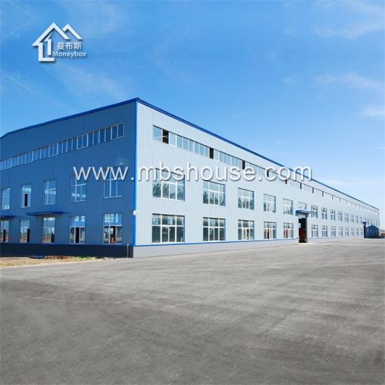 Steel Framed Factories : Cheap construction design prefabricated steel structure