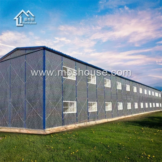 Fast Build Cheap Portable Prefab House for Dormitory/Office/School