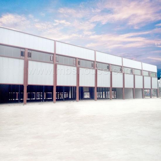 New Design Light Steel Structure Industrial Warehouse