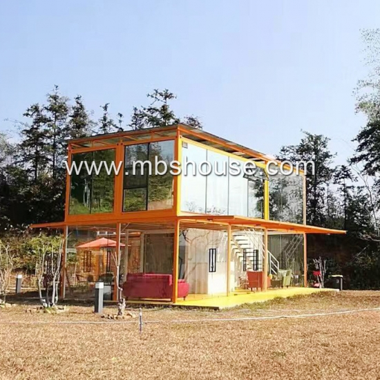 Eco-friendly Fashionale Economical Detached Container Houses