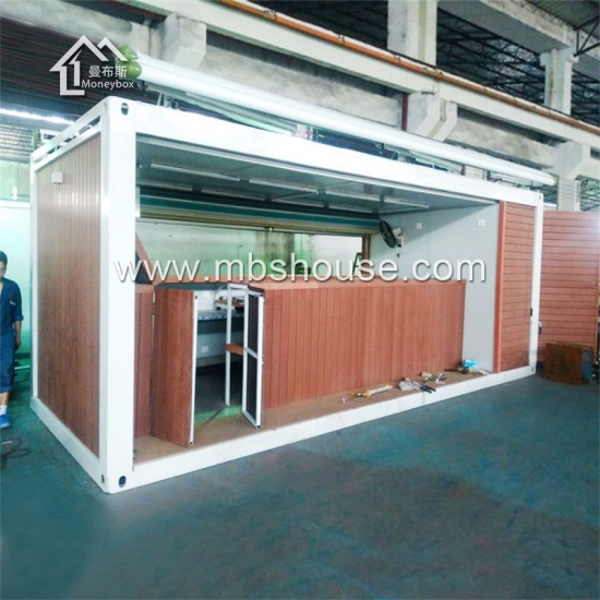 Newly Fashionable Mobile Prefabricated Flat-Pack Container Coffee Shop Design