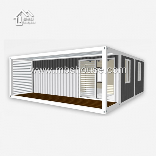 Factory Price Two Story Prefabricated House Living Container House in China